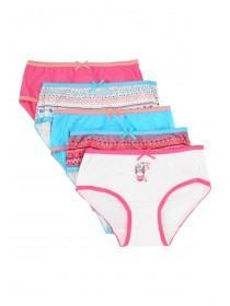 Younger Girls 5PK Hot Pink Briefs