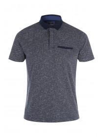 Mens Smart Jacquard Polo Shirt