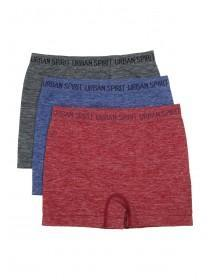 Boys 3PK Red Seamfree Boxers