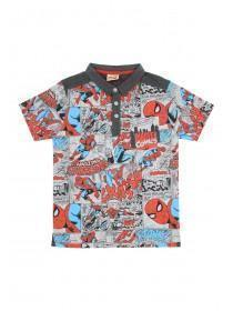 Younger Boys Spiderman Polo Shirt