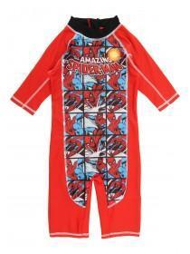 Younger Boys Red Spiderman Sunsafe