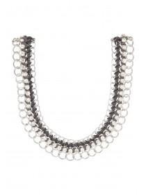 Womens Chunky Wrap Chain Necklace