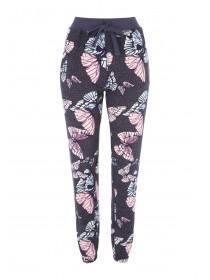 Womens Charcoal Soft Touch Pants