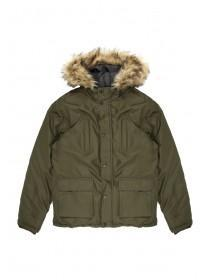 Older Boys Khaki Parka Coat