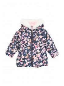 Younger Girls Floral Padded Jacket
