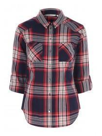 Womens Red Check Shirt