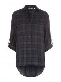 Womens Green Check Shirt