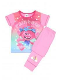 Younger Girls Hot Pink Trolls Pyjamas Set