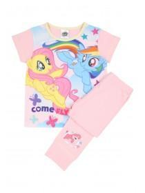 Younger Girls Pale Pink My Little Pony Pyjama Set