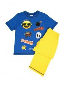 Older Boys Smiley Face #Emoji Pyjamas Set