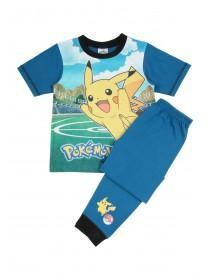 Older Boys Blue Pokemon Pyjama Set