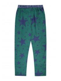 Boys Green Star Pyjamas