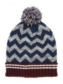 Younger Boys Blue Bobble Hat