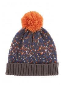 Younger Boys Blue and Orange Hat
