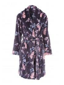 Womens Butterfly Printed Dressing Gown