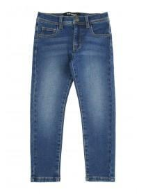 Younger Boys Blue Skinny Jersey Jeans