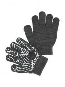 Younger Boys Cobweb Gripper Gloves