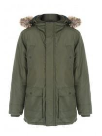 Mens Long Parka Jacket