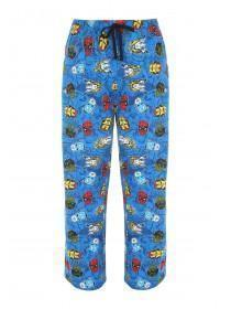Mens Blue Marvel Superheroes Lounge Pants