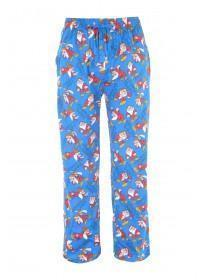 Mens Blue Grumpy Lounge Pants