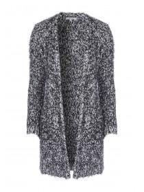 Womens Grey Long Cardigan