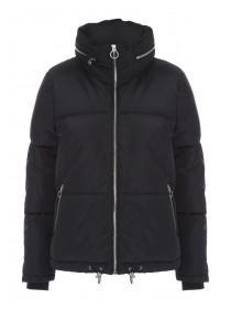 Womens Black Padded Coat