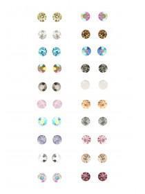 20PK Multi Stud Earrings