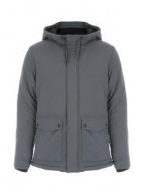 Mens Grey Fleece Lined Jacket