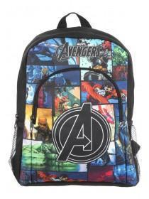 Younger Boys Black Avengers Backpack
