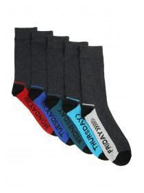Mens Days of the Week 5PK Socks