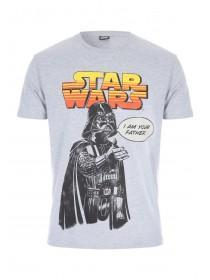 Mens Grey I Am Your Father Star Wars T-Shirt