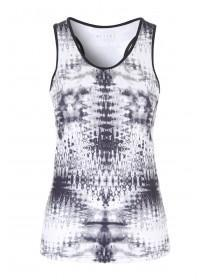 Womens Active All Over Print Vest