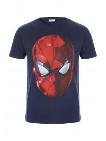 Mens Blue Spiderman T-Shirt