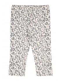 Baby Girls Pink Leopard Print Leggings