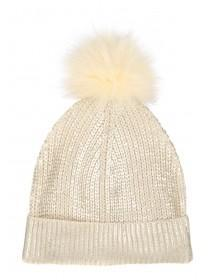 Womens Metallic Beanie