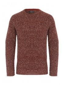 Mens Twist Knit Fisherman Jumper