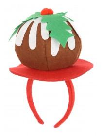 Novelty Christmas Pudding Headband