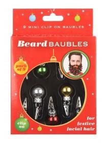 Mens Novelty Beard Baubles