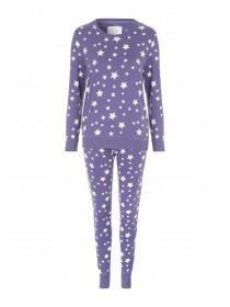 Womens Long Sleeve Jersey Pyjamas