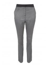 Womens Jacquard Trousers