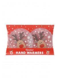 Red Reindeer Handwarmers