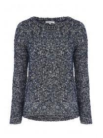 Womens Fluffy Textured Knit