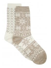 Womens 2PK Casual Thermal Socks