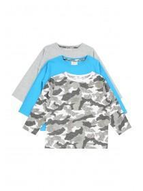 Younger Boys 3PK Long Sleeve Tshirts