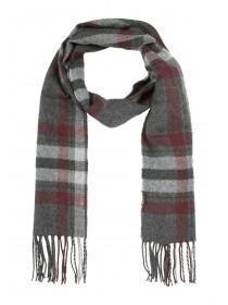 Mens Woven Checked Scarf
