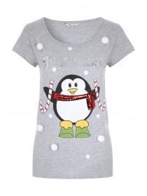 Womens Xmas novelty Tee