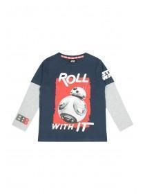 Younger Boys BB-8 Star Wars T-Shirt