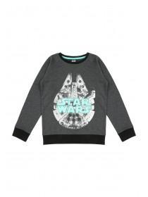 Younger Boys Glow in the Dark Star Wars Jumper