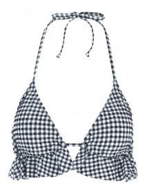 Jane Norman Gingham Bikini Top