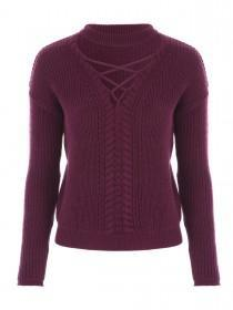 Jane Norman Berry Choker Jumper